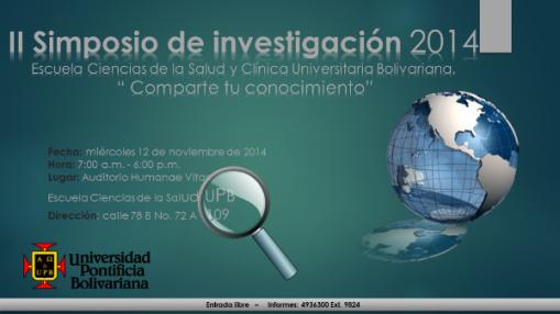 Simposio de Investigación UPB 2014